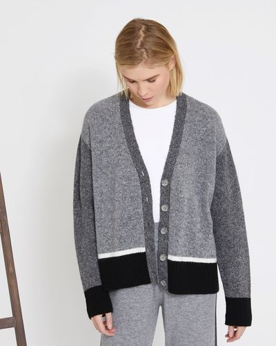 Carolyn Donnelly The Edit Colour Block Cardigan