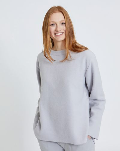 Carolyn Donnelly The Edit Brushed Cotton Sweater thumbnail