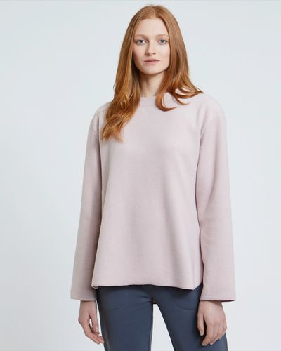 Carolyn Donnelly The Edit Brushed Cotton Sweater