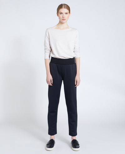 Carolyn Donnelly The Edit Black Jersey Sweatpant thumbnail
