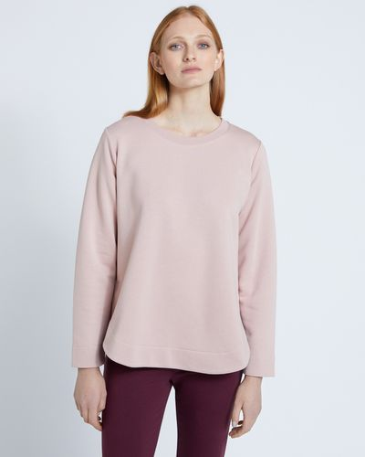 Carolyn Donnelly The Edit Curved Hem Sweatshirt