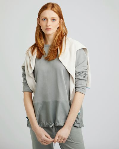 Carolyn Donnelly The Edit Cotton Drawstring Sweater