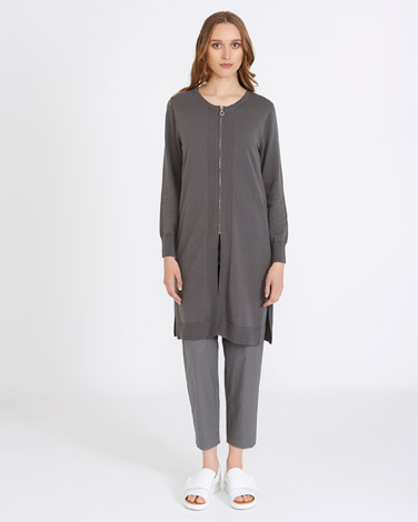 Carolyn Donnelly The Edit Cotton Long Cardigan