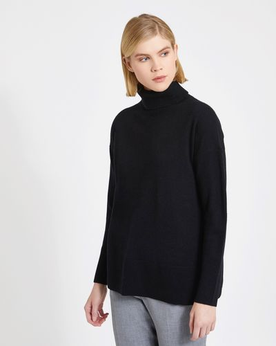 Carolyn Donnelly The Edit Polo Cashmere Blend Sweater