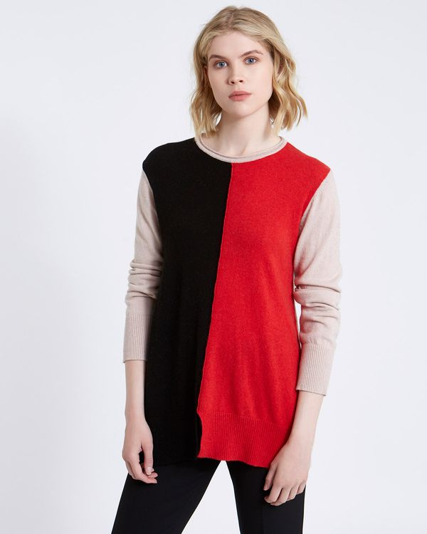 Carolyn Donnelly The Edit Colour Block Sweater