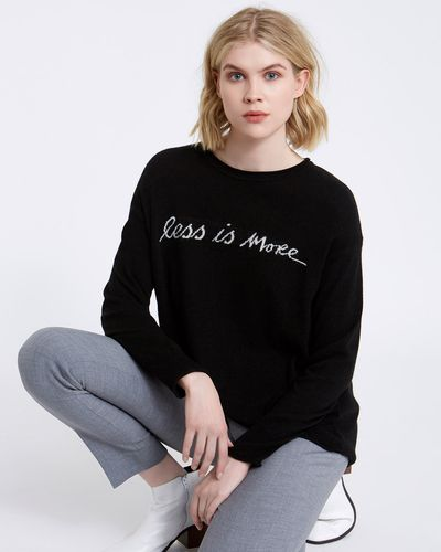 Carolyn Donnelly The Edit Slogan Sweater thumbnail