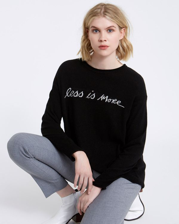 Carolyn Donnelly The Edit Slogan Sweater