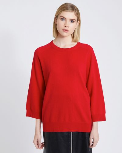 Carolyn Donnelly The Edit Cashmere Mix Raglan Sweater