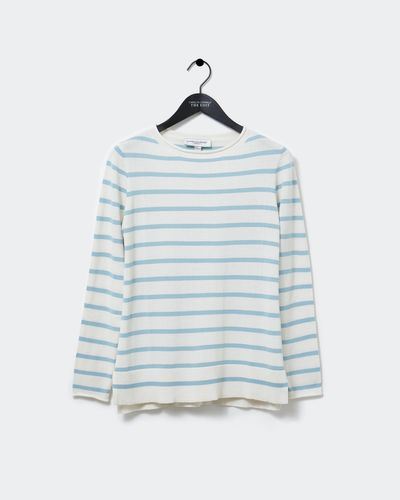Carolyn Donnelly The Edit Stripe Cotton Sweater