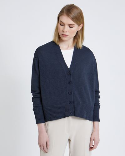 Carolyn Donnelly The Edit Cotton Mix Cardigan