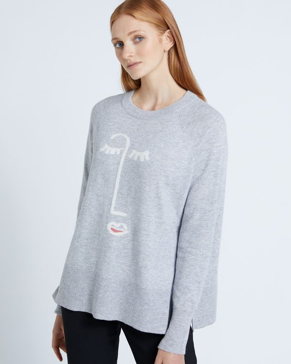 Carolyn Donnelly The Edit Face Sweater