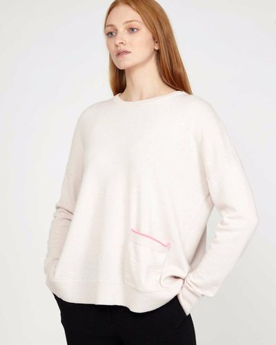 Carolyn Donnelly The Edit Stone Pocket Sweater thumbnail