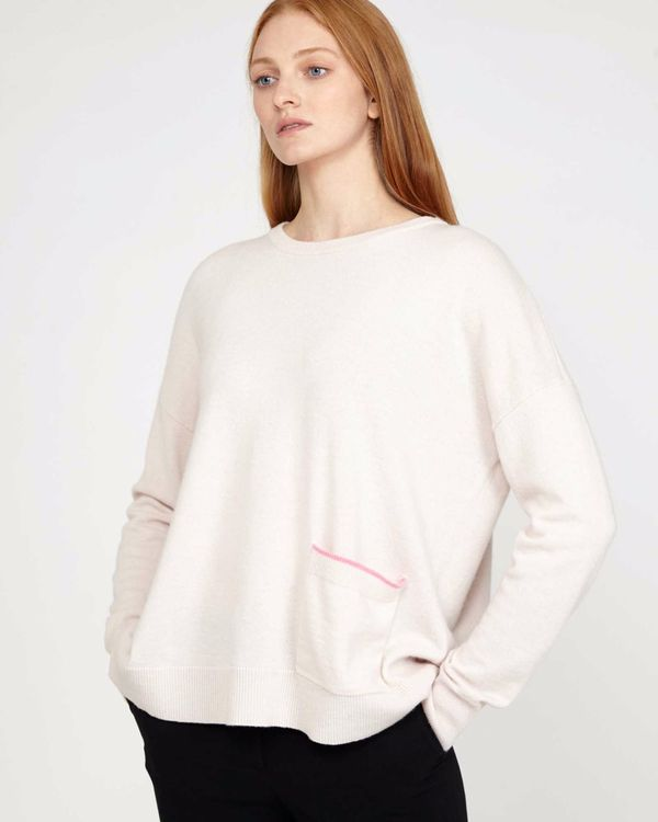 Carolyn Donnelly The Edit Stone Pocket Sweater