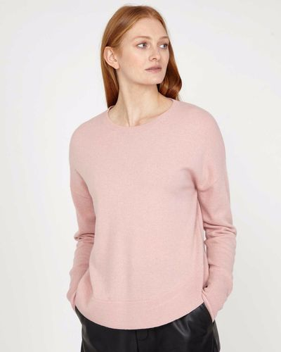 Carolyn Donnelly The Edit Curved Hem Sweater