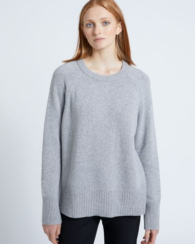 Carolyn Donnelly The Edit Grey Crew Neck Sweater thumbnail