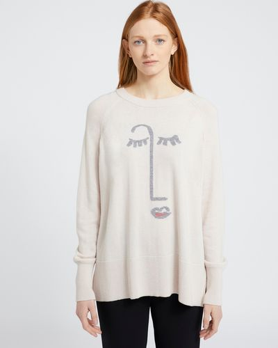 Carolyn Donnelly The Edit Stone Face Sweater
