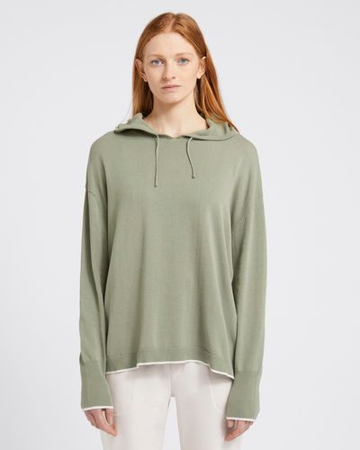 Carolyn Donnelly The Edit Knit Cotton Hoodie