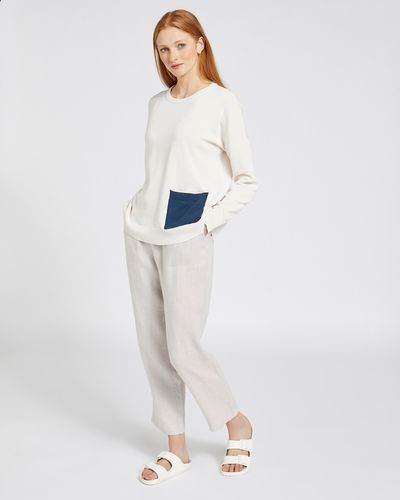Carolyn Donnelly The Edit Pocket Sweater