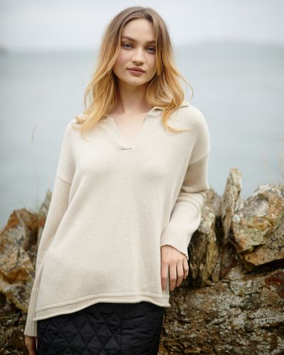 Carolyn Donnelly The Edit Collar Sweater thumbnail