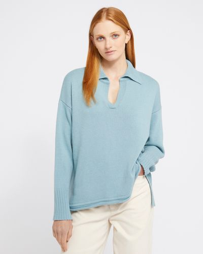 Carolyn Donnelly The Edit Collar Sweater