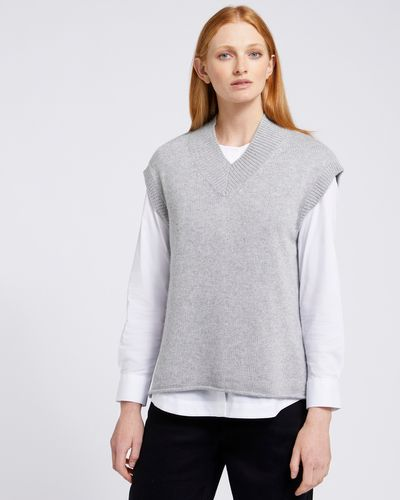Carolyn Donnelly The Edit V-Neck Slip On Sweater