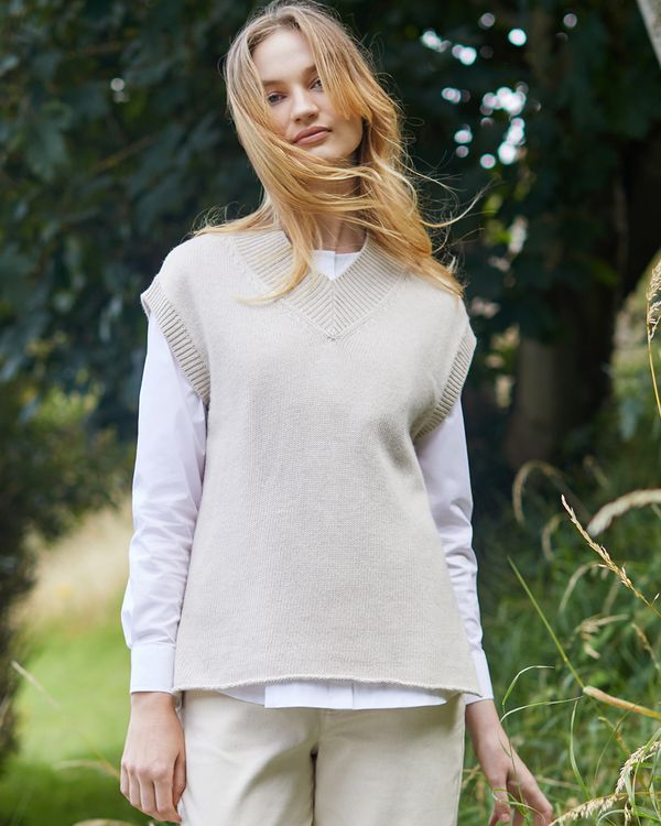 Carolyn Donnelly The Edit V Neck Slip On Sweater