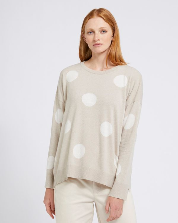 Carolyn Donnelly The Edit Spot Sweater