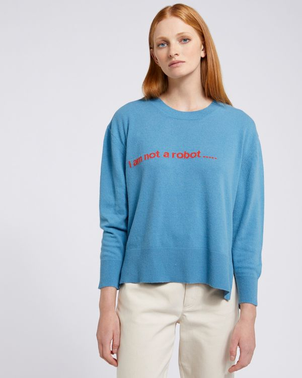 Carolyn Donnelly The Edit I Am Not A Robot Sweater