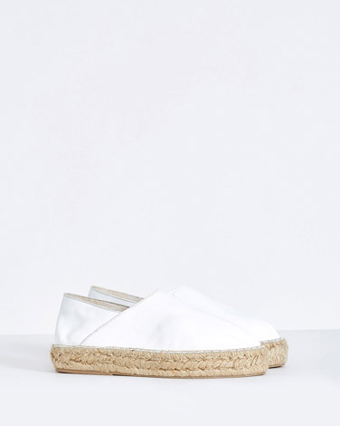 white Carolyn Donnelly The Edit Platform Espadrille
