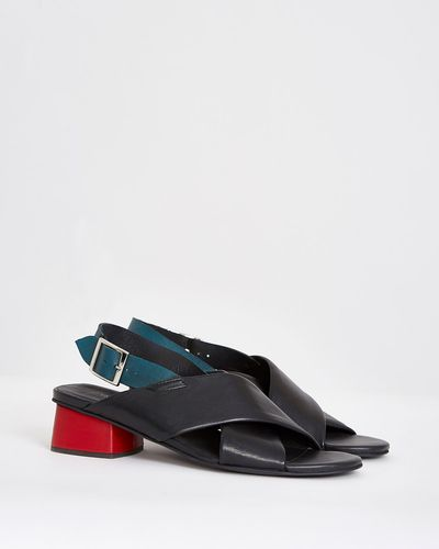 Carolyn Donnelly The Edit Colour Block Sandals
