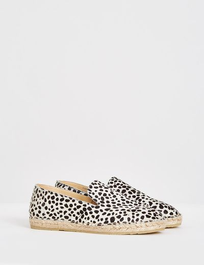 Carolyn Donnelly The Edit Leopard Print Espadrille