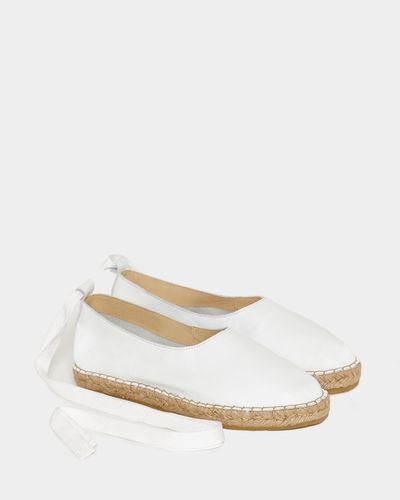 Carolyn Donnelly The Edit Tie Detail Espadrilles