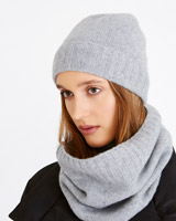 grey Carolyn Donnelly The Edit Cashmere Snood