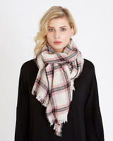 print Carolyn Donnelly The Edit Check Scarf