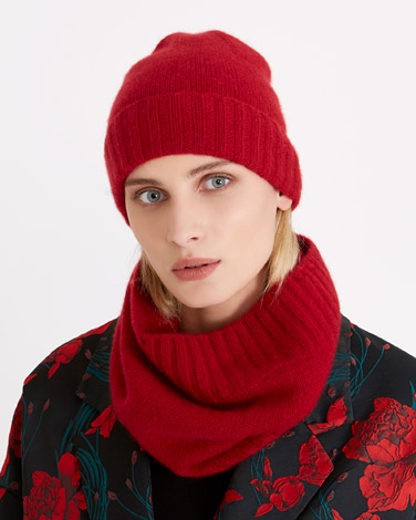 redCarolyn Donnelly The Edit Cashmere Snood