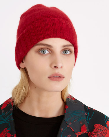 redCarolyn Donnelly The Edit Cashmere Hat