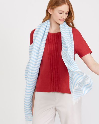 Carolyn Donnelly The Edit Linen Cotton Scarf