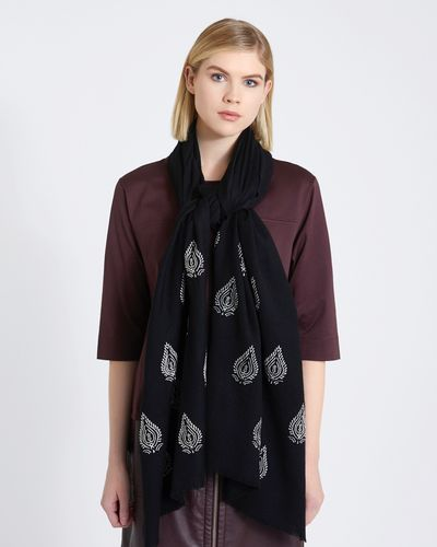 Carolyn Donnelly The Edit Embroidered Scarf