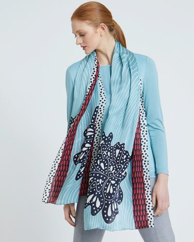 Carolyn Donnelly The Edit Petal Print Scarf