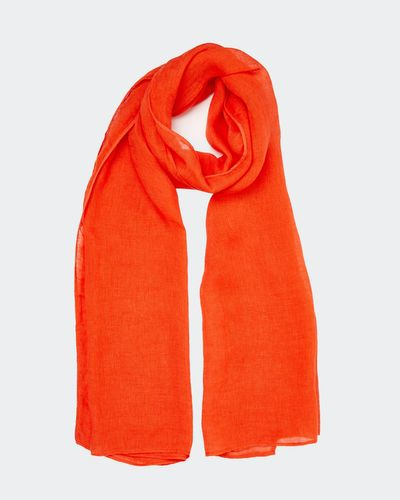 Carolyn Donnelly The Edit Linen Scarf thumbnail