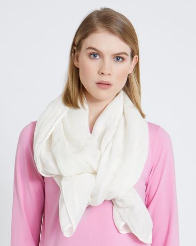 Carolyn Donnelly The Edit Linen Scarf