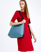 black Carolyn Donnelly The Edit Colour Block Bag