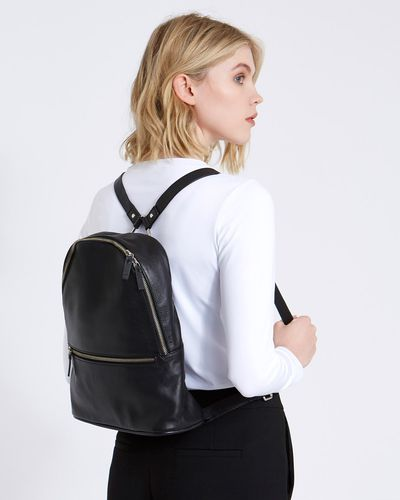 Carolyn Donnelly The Edit Leather Backpack