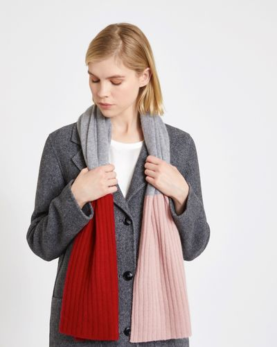 Carolyn Donnelly The Edit Colour Block Scarf