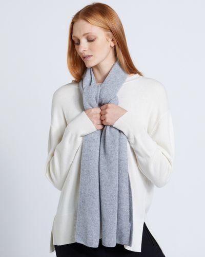 Carolyn Donnelly The Edit Grey Medium Cashmere Scarf