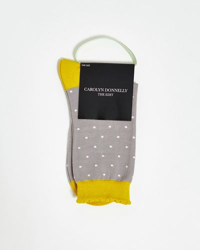 Carolyn Donnelly The Edit Small Polka Dot Socks