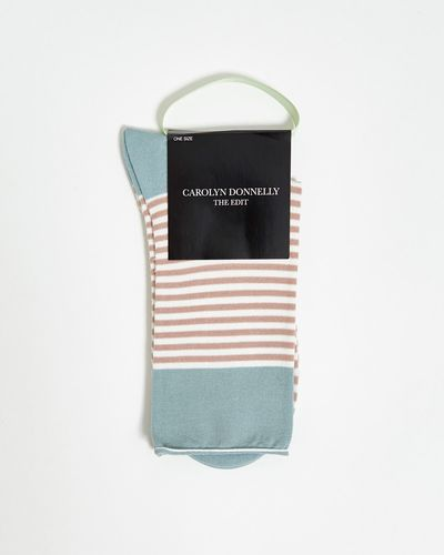 Carolyn Donnelly The Edit Stripe Socks