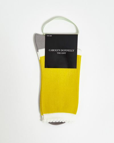 Carolyn Donnelly The Edit Scallop Socks