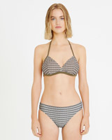 print Carolyn Donnelly The Edit Bikini Top
