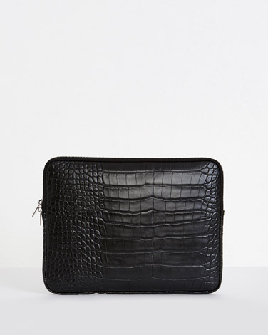 blackCarolyn Donnelly The Edit Laptop Case